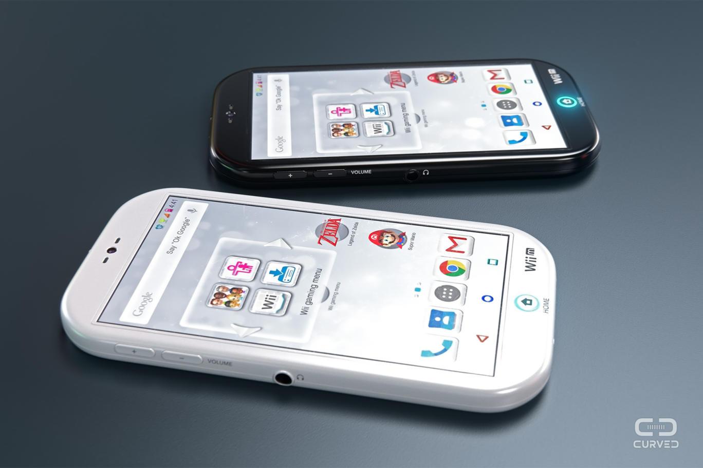 nintendo android, Concept : un smartphone Nintendo sous Android