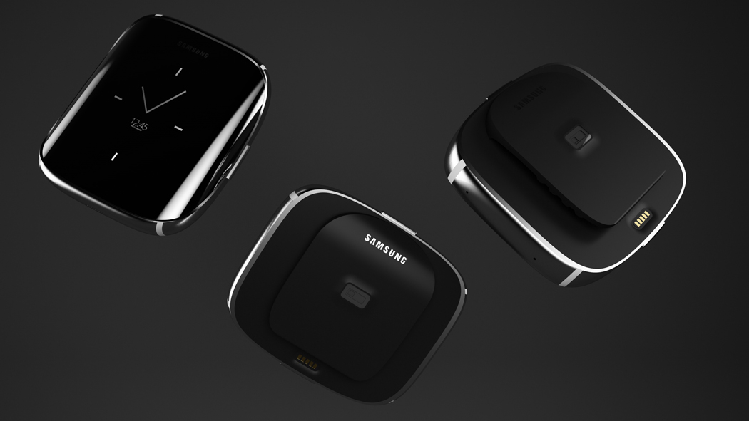 Samsung Gear smart watch with an Edge display could look ...