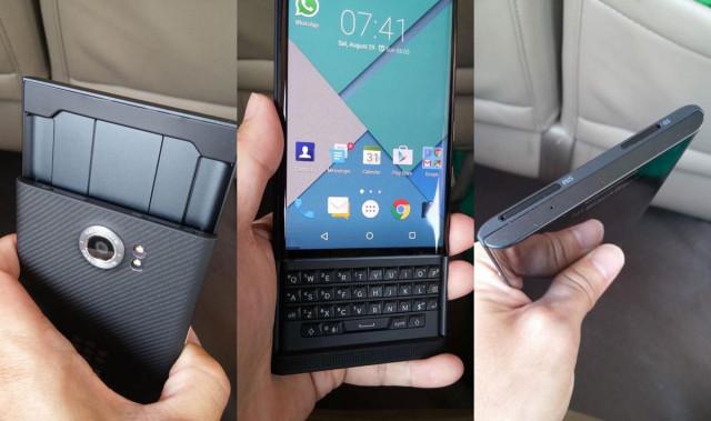 blackberry priv leaks