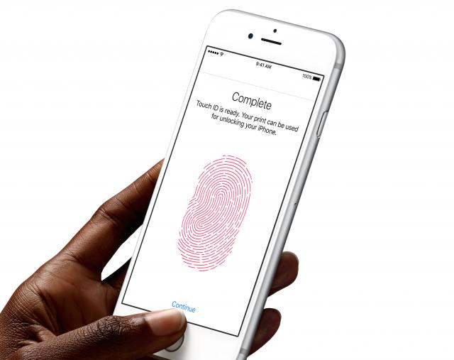 iPhone 6s fingerprint
