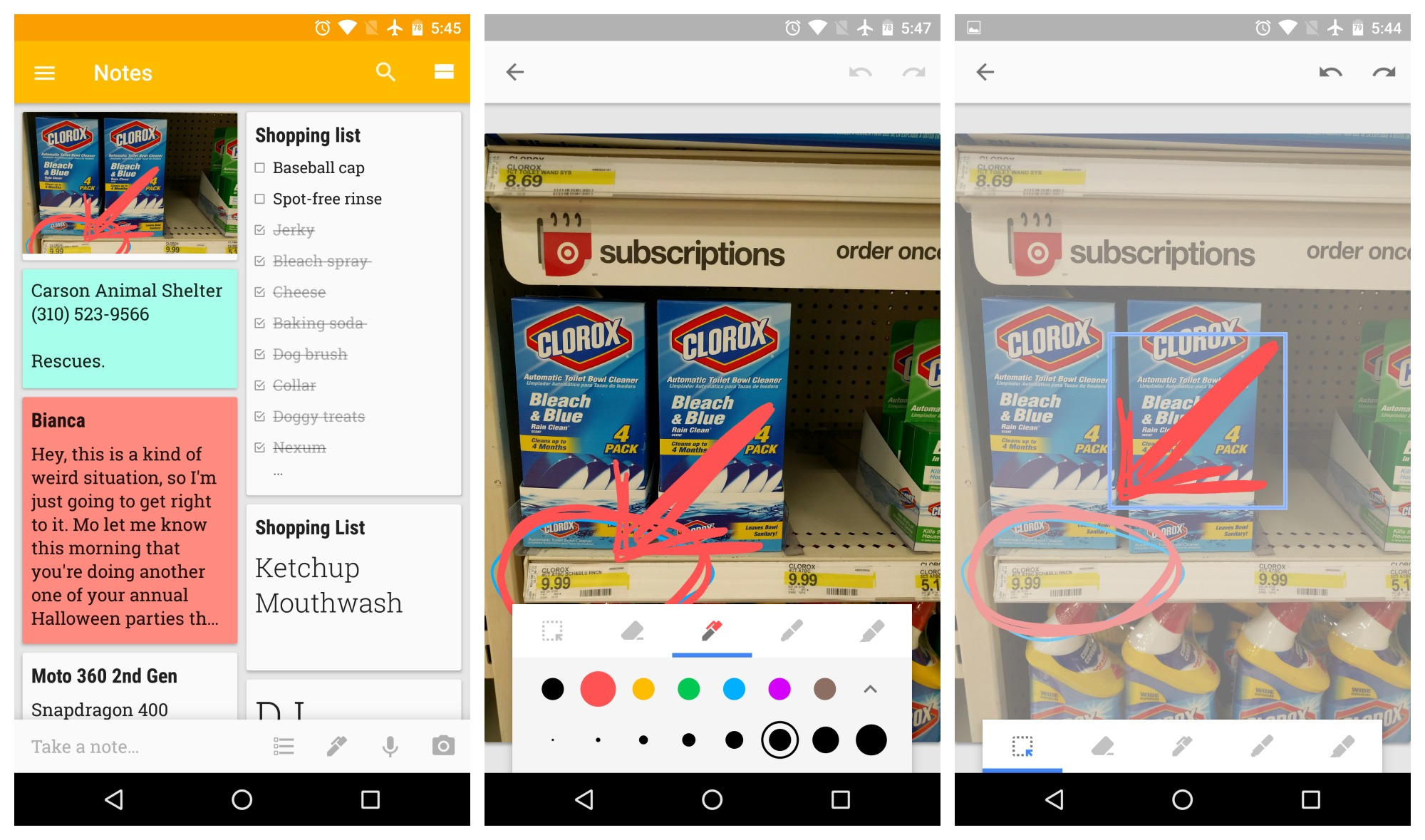 download google keep update with drawings