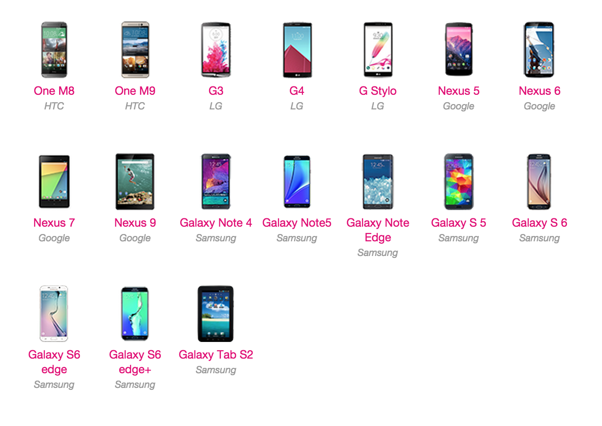 T-Mobile's Software Updates page now tracking Android 6 0