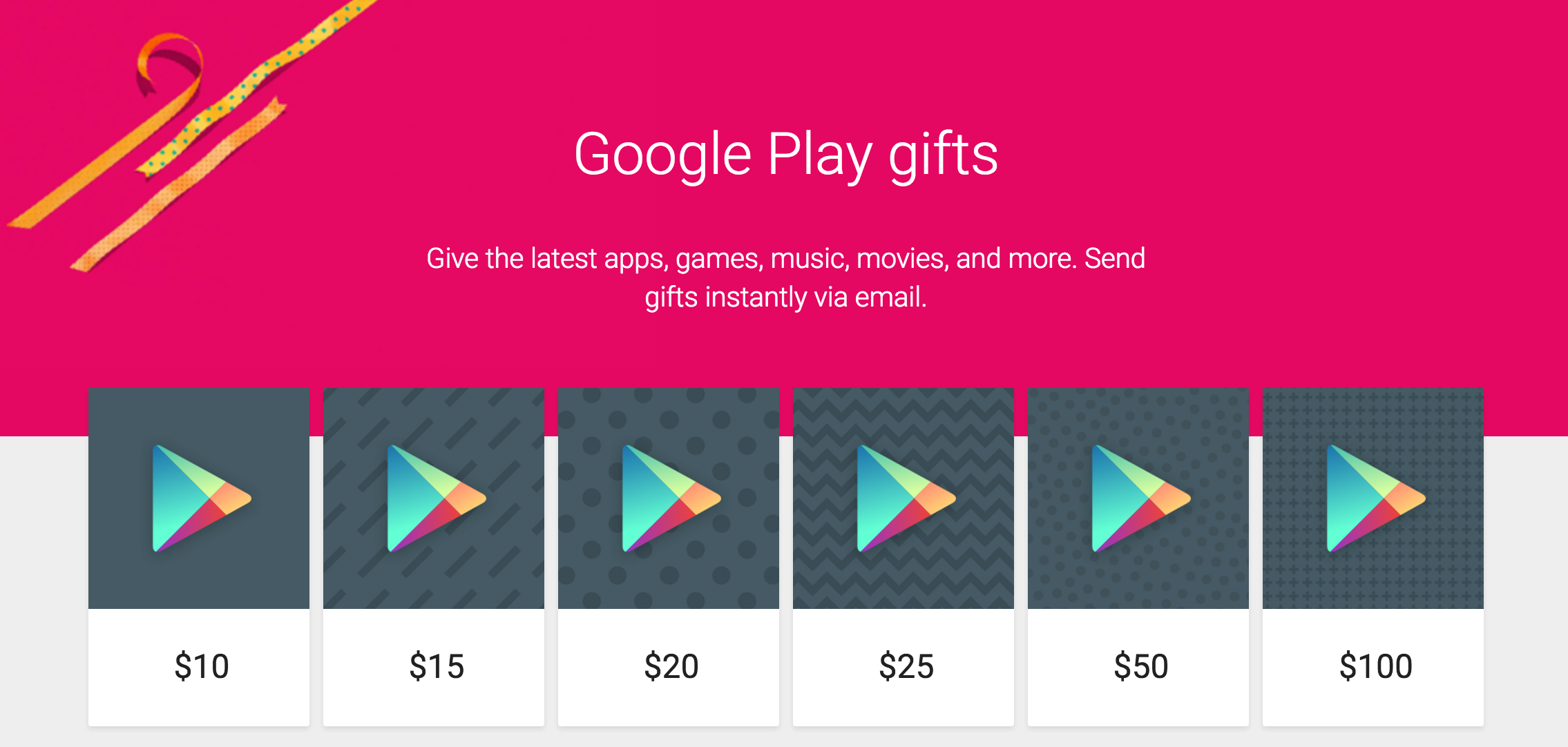 You can now send google play credit via email you can now gift google play credit on the play store negle Gallery