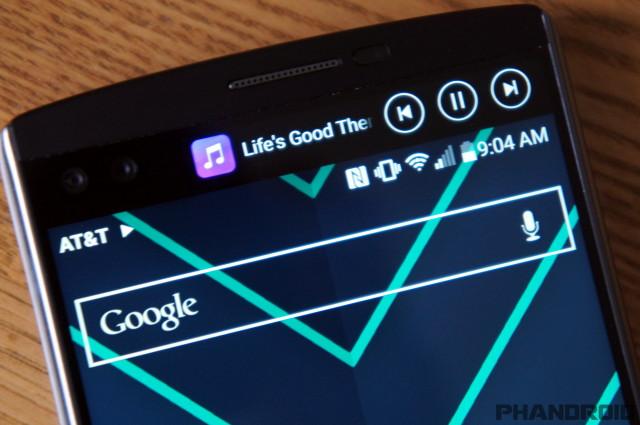 how to turn off music app on lg v10