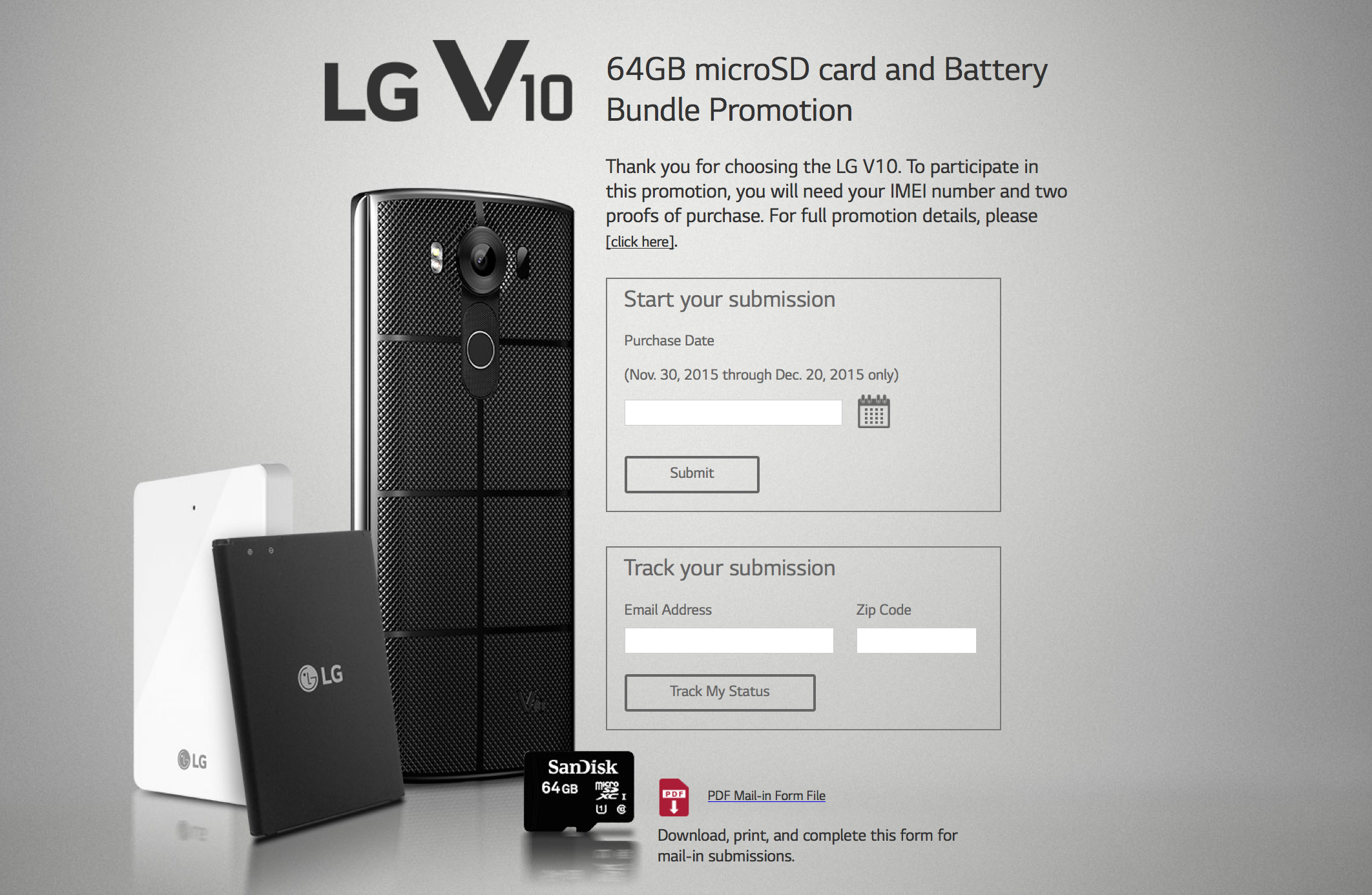 new lg v10 promo offers free 64gb micro sd battery and cradle. Black Bedroom Furniture Sets. Home Design Ideas