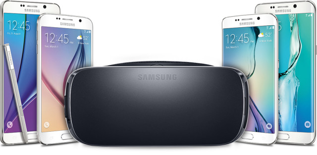 New Samsung Gear VR Galaxy phones