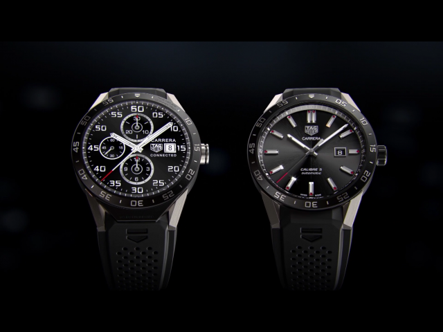 tag heuer android wear watch