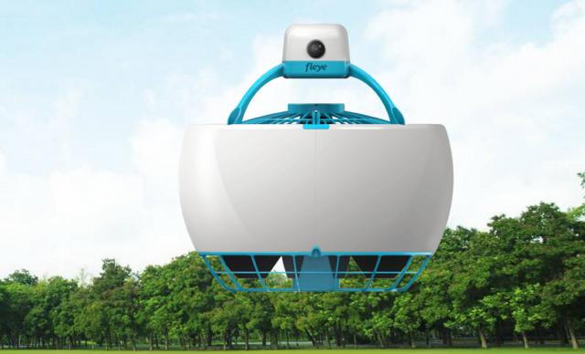 Fleye   Your personal Flying Robot