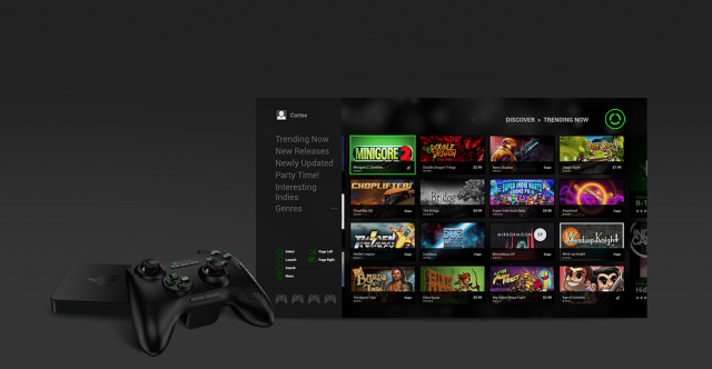Razer Forge Android TV Cortex