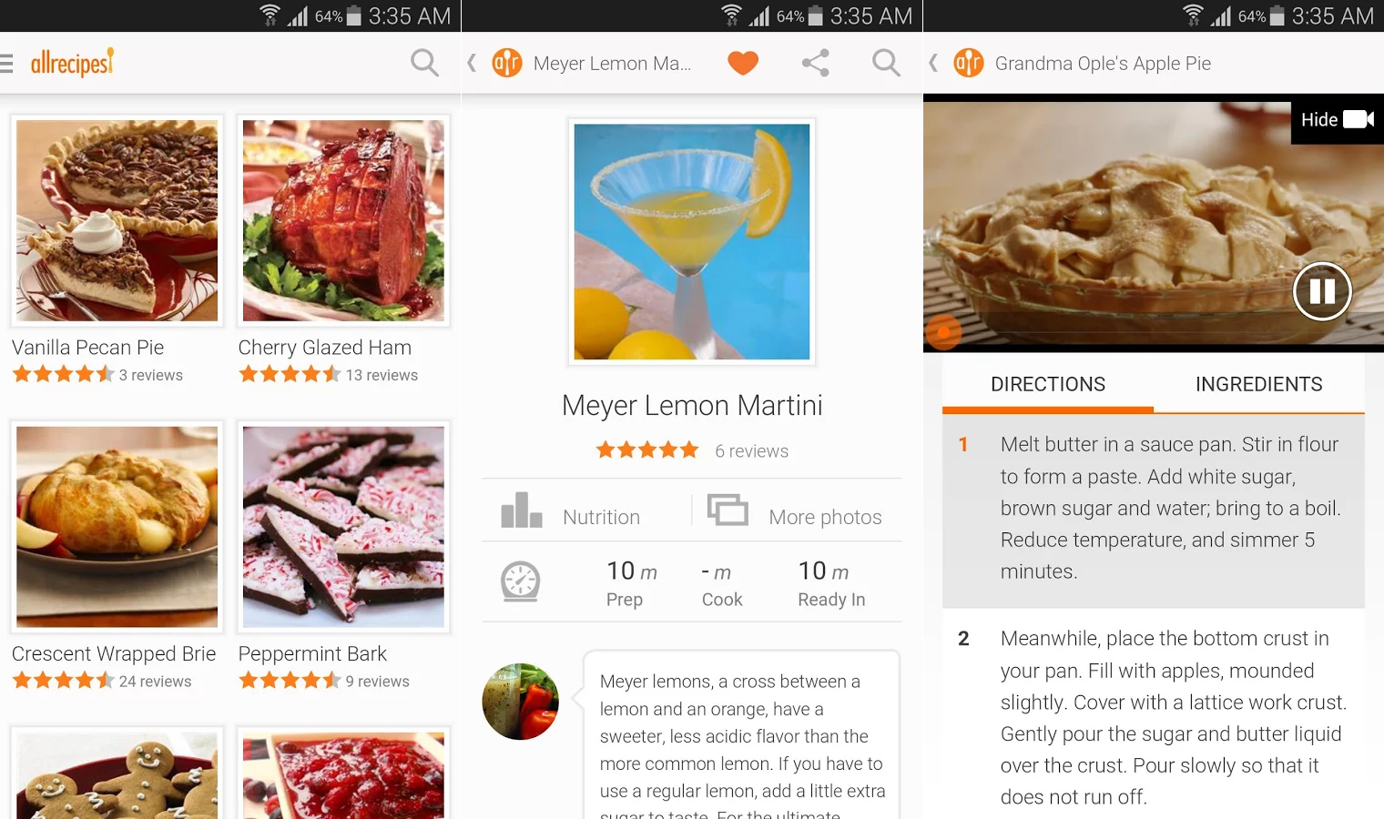 5 best recipe apps for android phandroid you can see user submitted photos ratings and reviews of nearly every recipe search for recipes that only include what you forumfinder Gallery