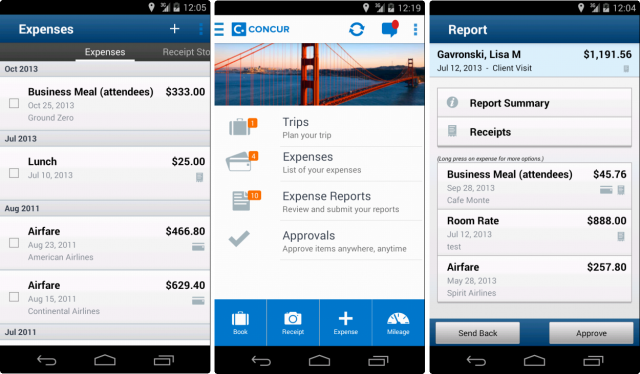 Concur Expense Report App on microsoft excel app, concur icon, microsoft office app, concur travel app, concur app screenshots, travel expense app, concur app pro, concur solutions app, best expense app,