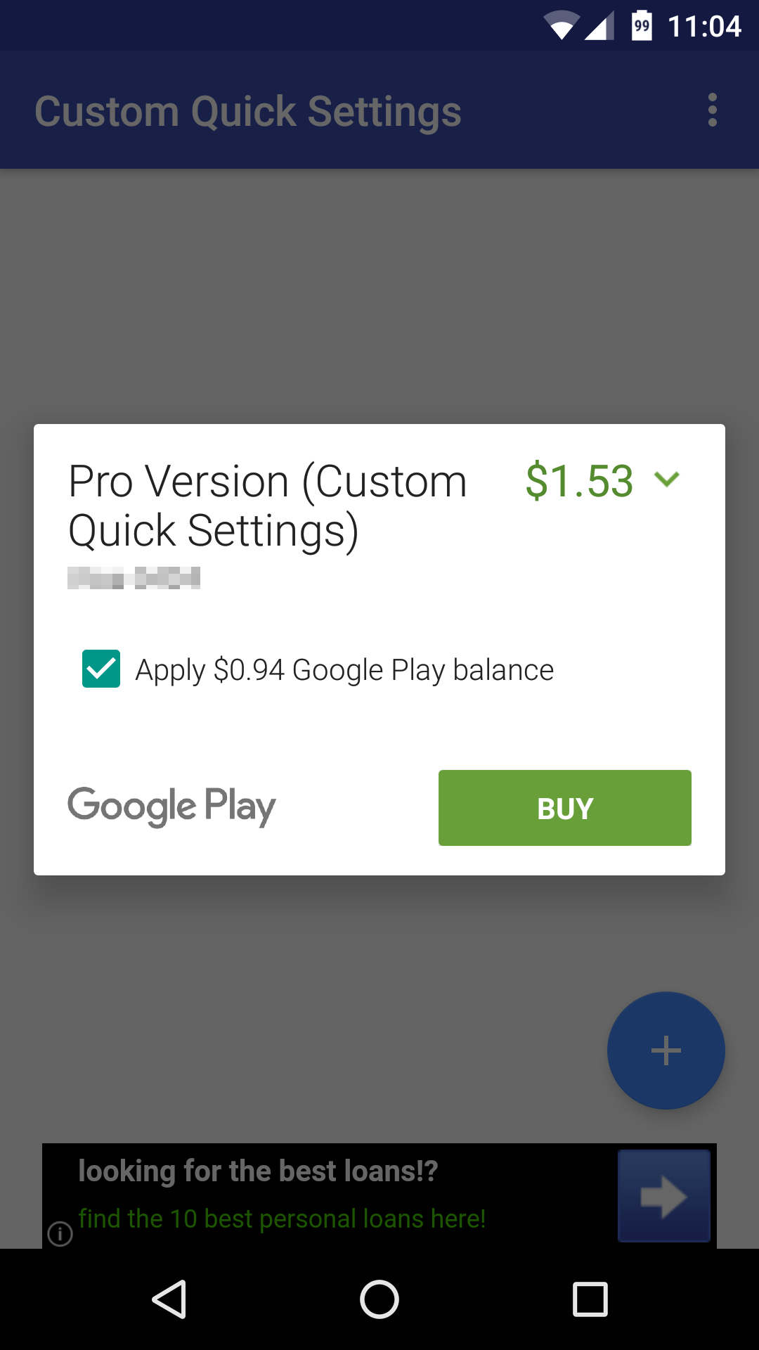 How to Buy Credit for Google Play