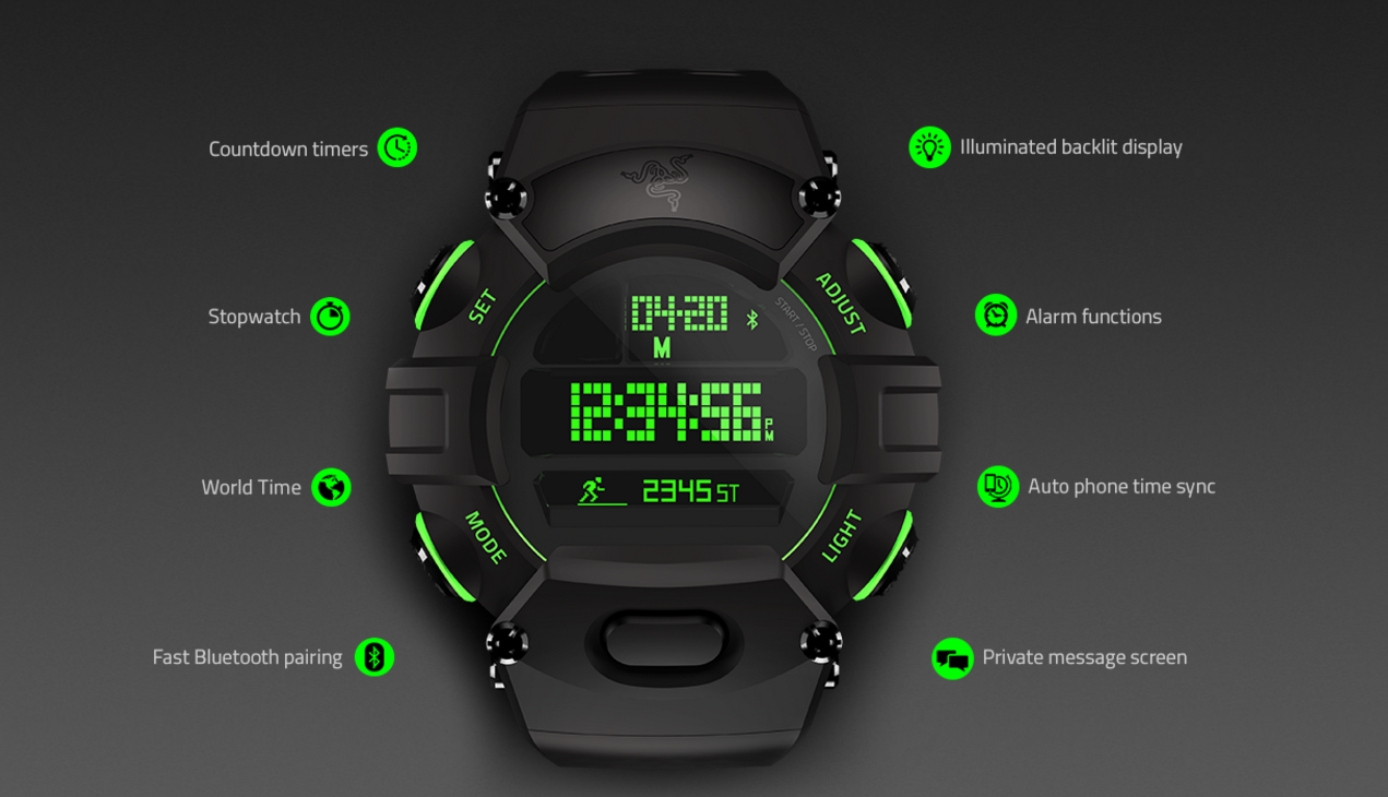 "Razer introduces a more traditional watch with ""smart ..."