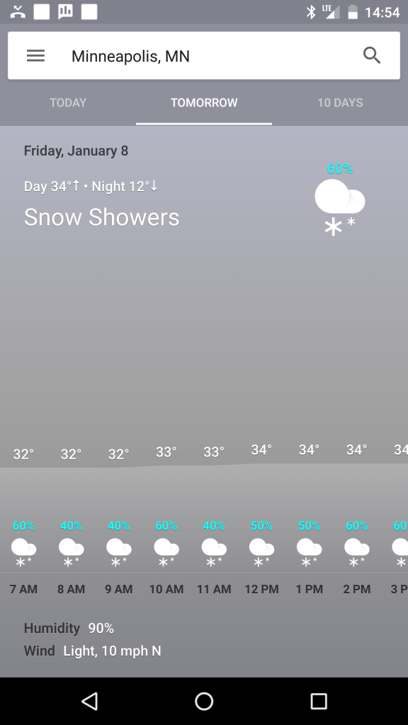 google now weather card tomorrow 1