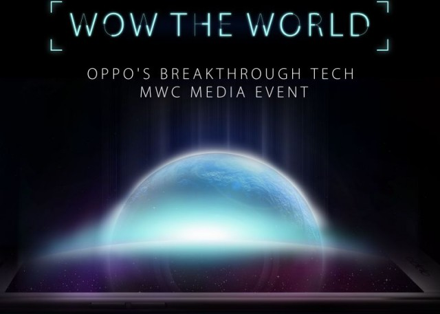 oppo mwc event