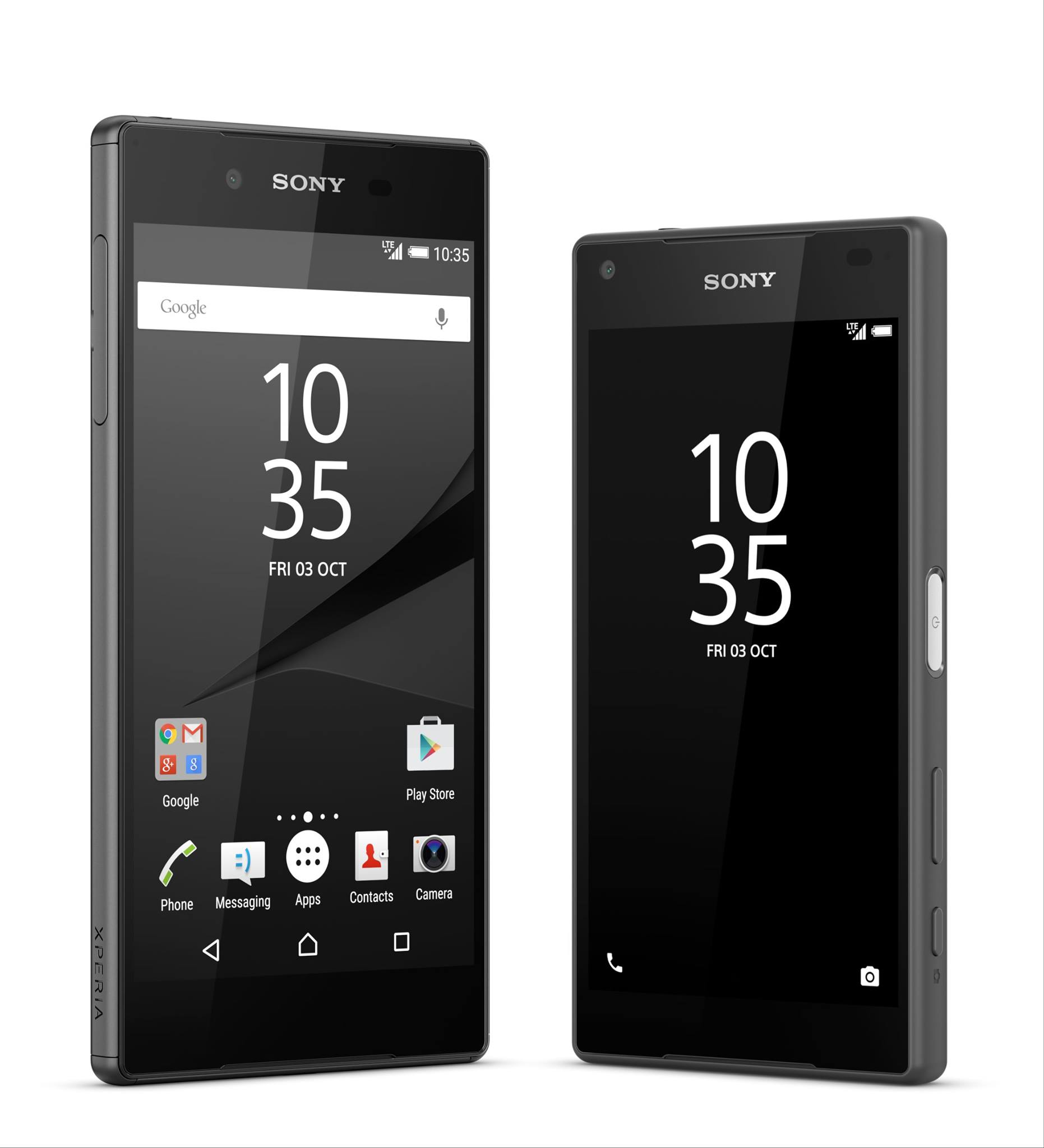 the sony xperia z5 and xperia z5 compact are available. Black Bedroom Furniture Sets. Home Design Ideas