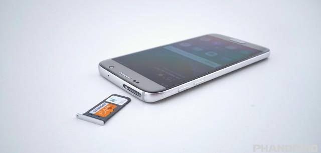 Samsung Galaxy S7 micro SD slot SIM DSC01921
