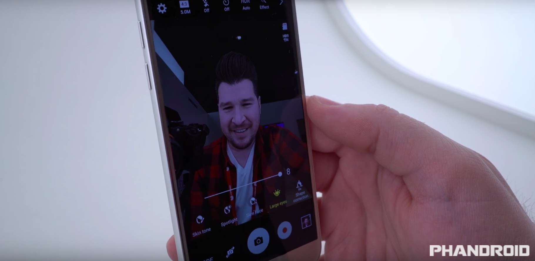 Hands On With The Samsung Galaxy S7 S Selfie Camera And