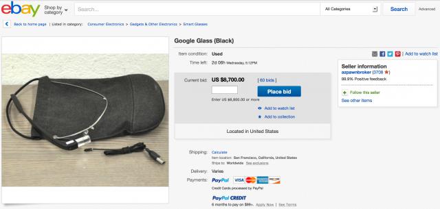 Google Glass Enterprise Edition eBay