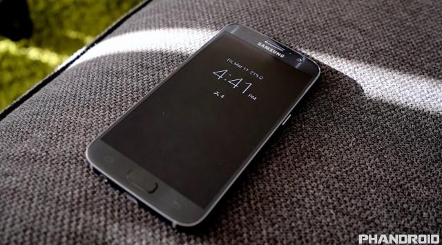Samsung Galaxy S7 Always On Display DSC02087