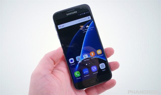 Samsung Galaxy S7 black onyx DSC01905