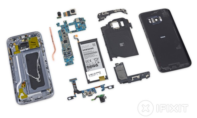 Samsung Galaxy S7 teardown iFixit 2