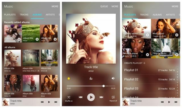 Samsung Music app beta Android