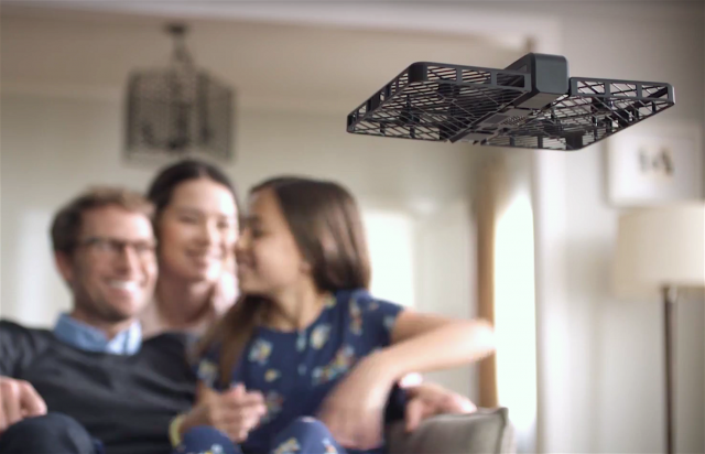 Hover Camera is a new portable selfie drone