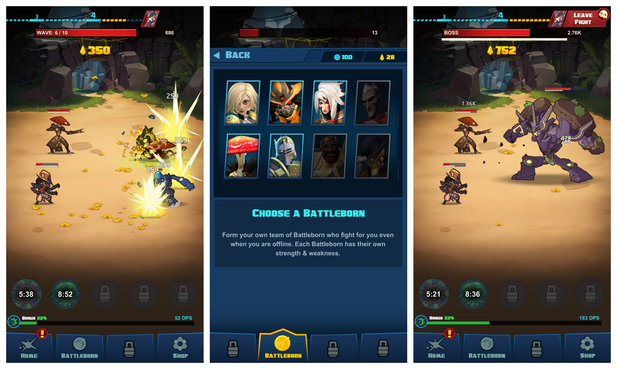 battleborn tap now available on android
