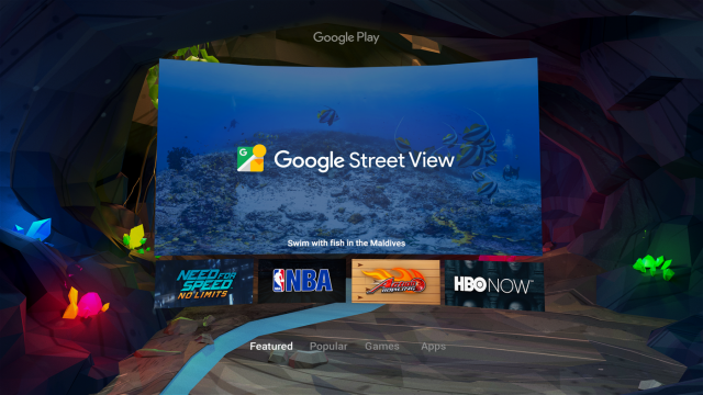 Google Daydream Android VR Play Store
