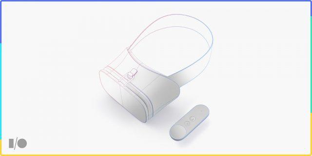 Google Daydream VR headset controller