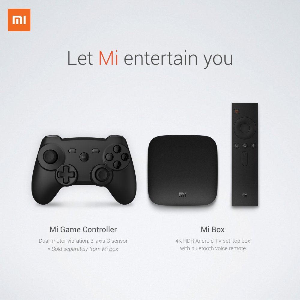android tv powered xiaomi mi box  ing to the us