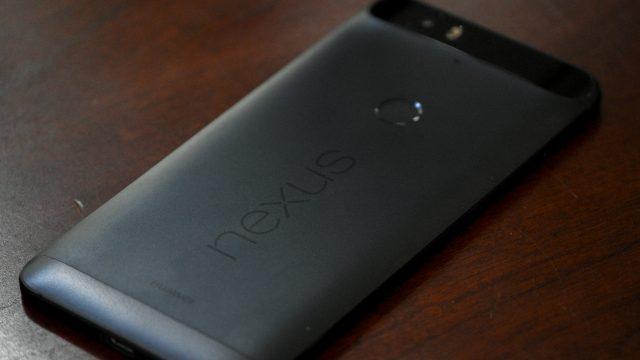 Nexus 6P Fingerprint Sensor