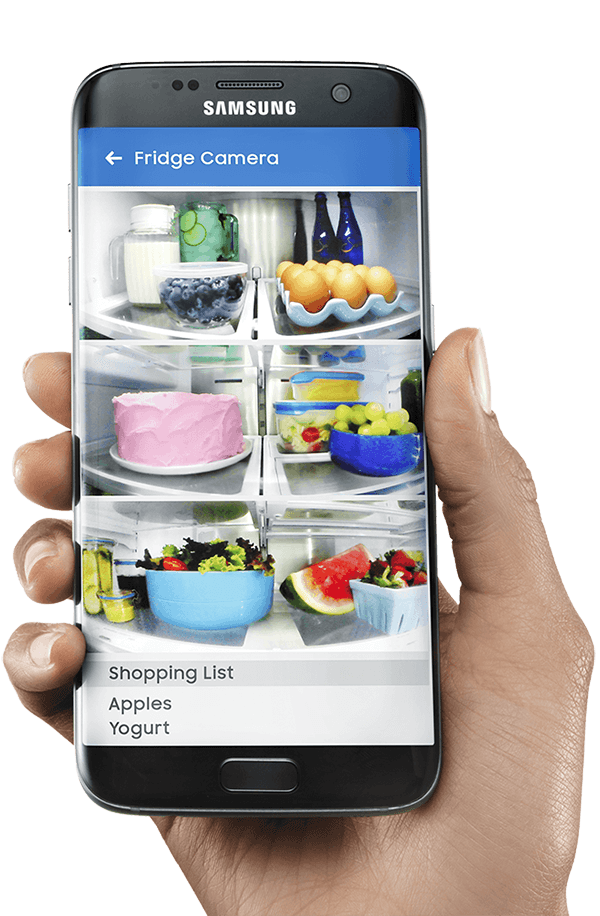 Samsung S Smart Fridge With Its Giant Embedded Smartphone