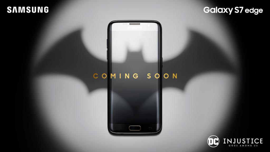 Download Galaxy S7 Edge Olympic Special Edition Theme For: Potential Samsung Galaxy S7 Edge Batman Edition Teasers