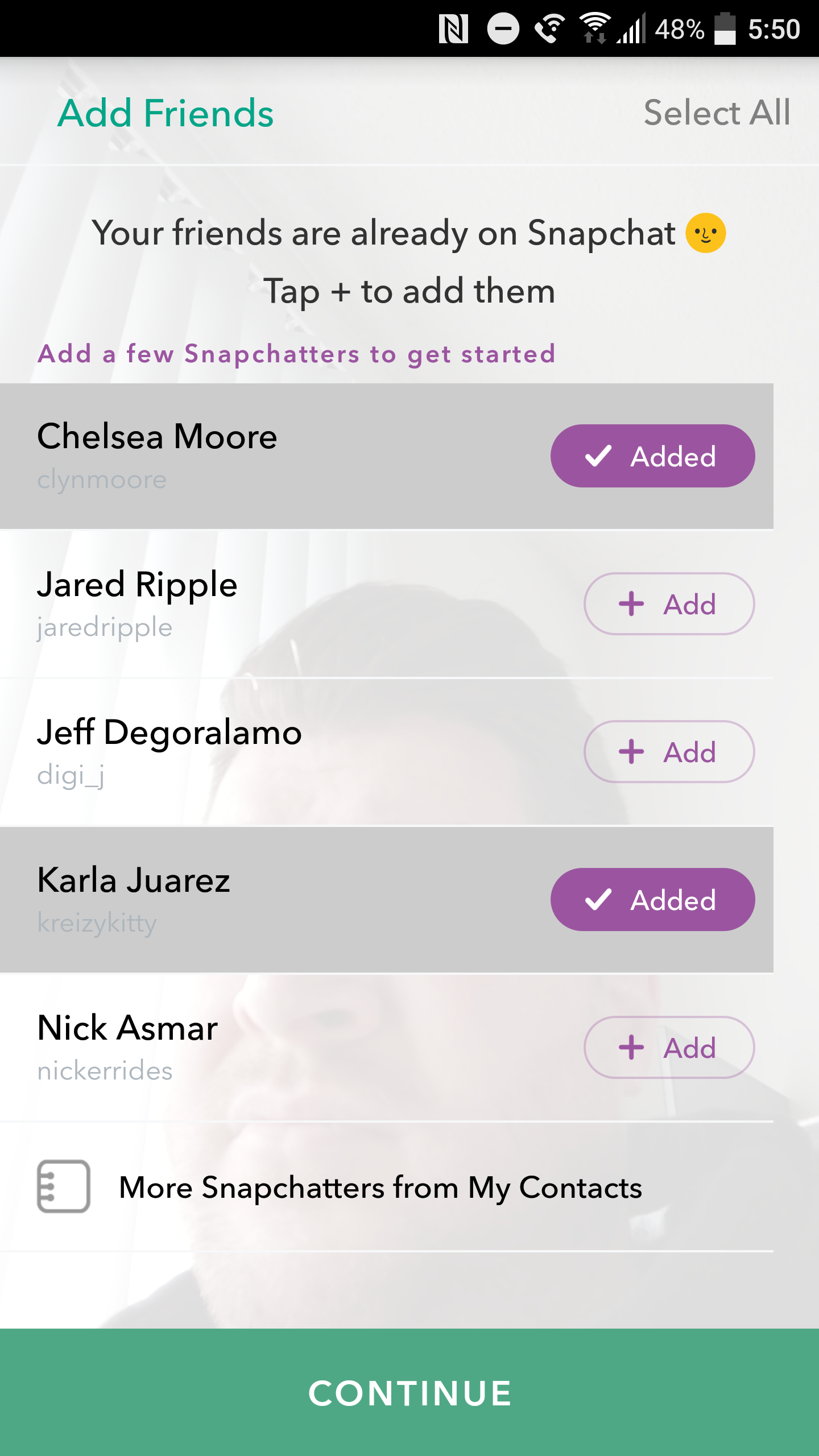 How to use snapchat although its not necessary snapchat is arguably most fun when you have people to actually follow when you first sign up youll need to give snapchat biocorpaavc Gallery