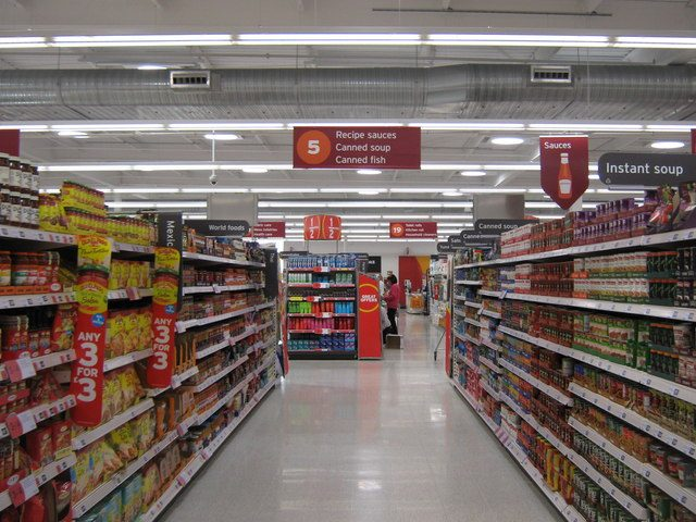 store aisles