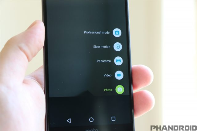 moto droid z. in an effort to turn your moto z droid and force into the best camera possible, motorola has integrated a few different modes capture