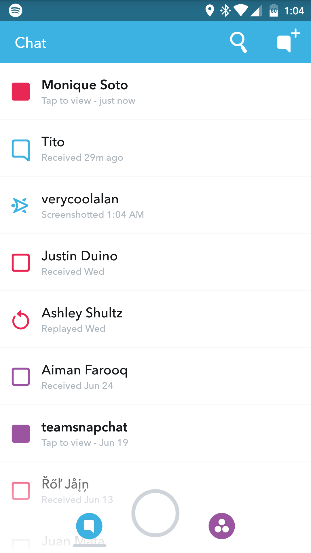 how to use photo from phone on snapchat to cut