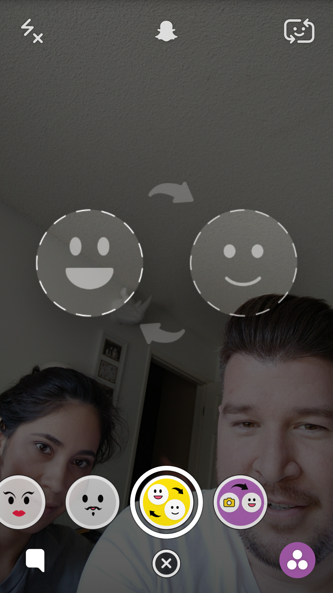 how to put snapchat filters on android