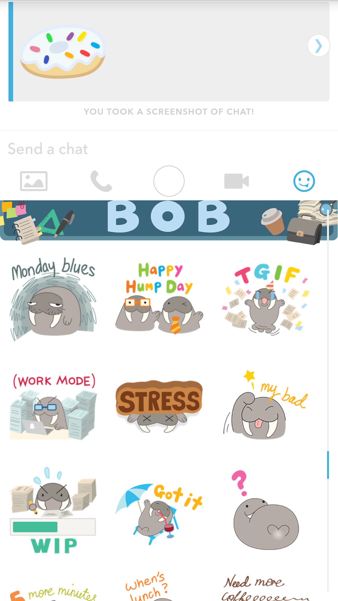 how to delete snapchat stickers permanently