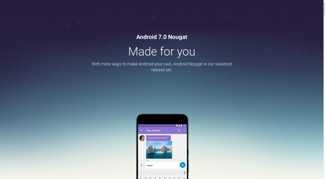 Android – Nougat