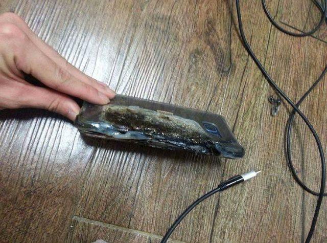 Note 7 burn 4