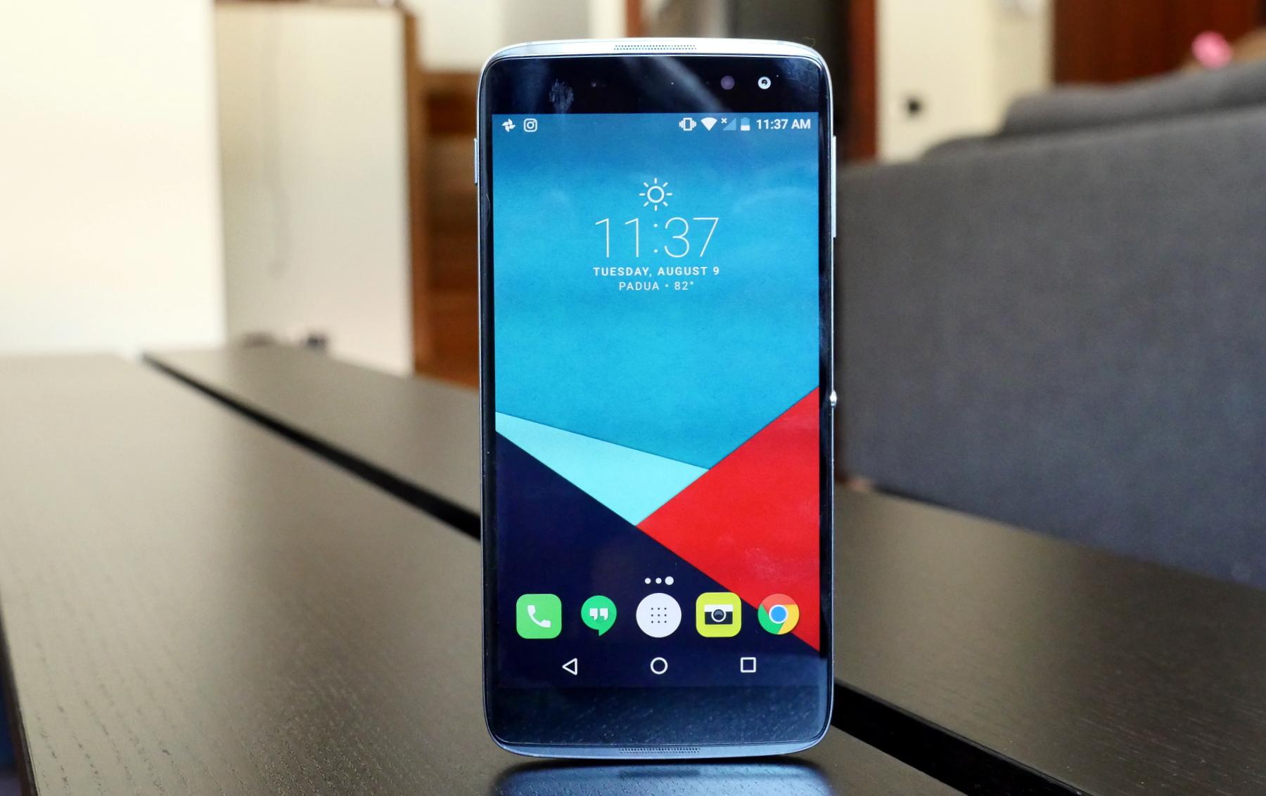 Android 7 alcatel idol 4
