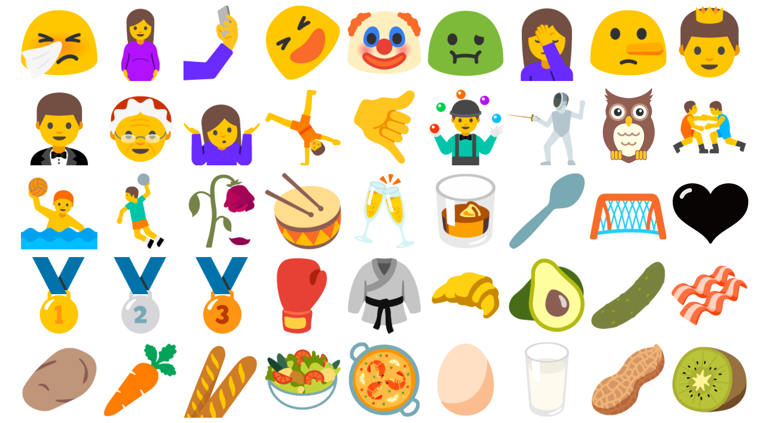 WhatsApp gets new emojis from Android 7.1
