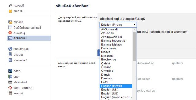 facebook-language