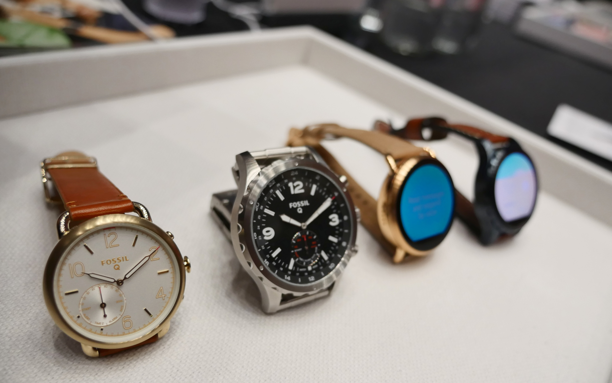 Hands On Fossil Q Marshal And Wander Android Wear Smartwatches 2