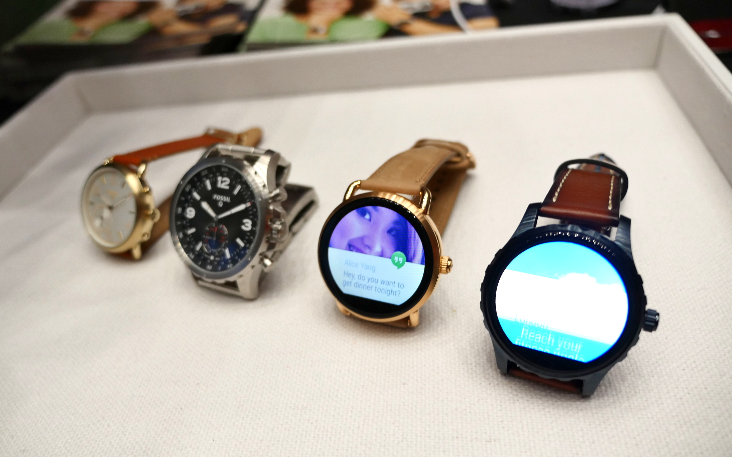 Hands On Fossil Q Marshal And Q Wander Android Wear