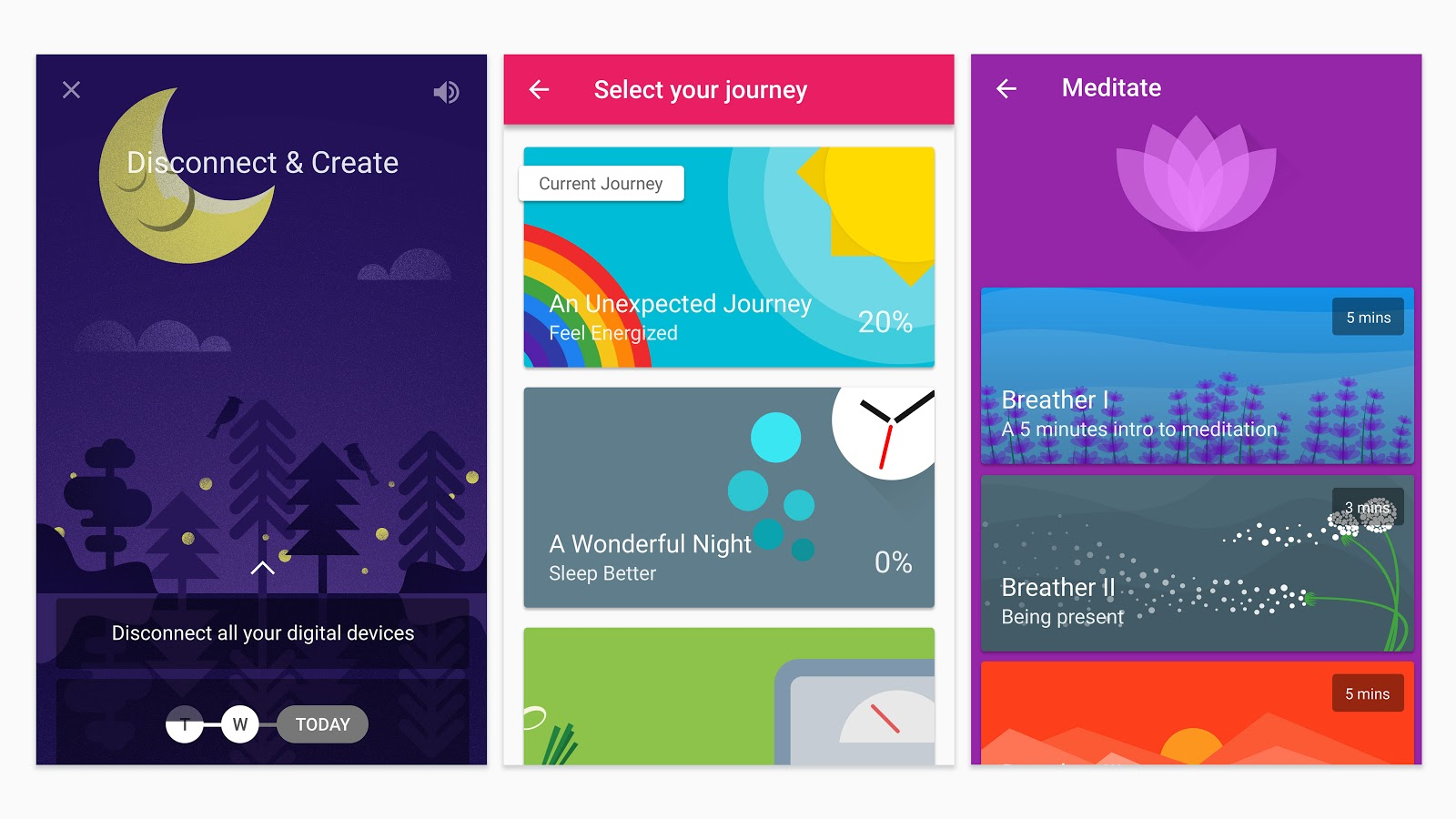 5 material design apps that google thinks are brilliant - Google home page design ...