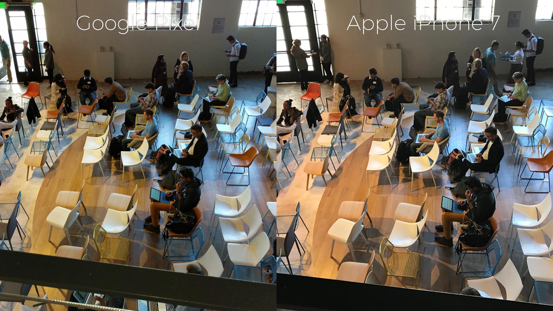 Google Pixel Vs Iphone 7 Camera Comparison Photos